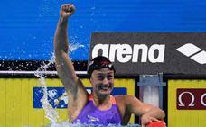 Mireia Belmonte se impone en los 800 con la mejor marca mundial del año