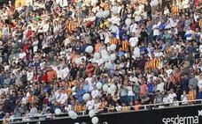 Más de un millón de espectadores ya han disfrutado del Valencia esta temporada en Mestalla