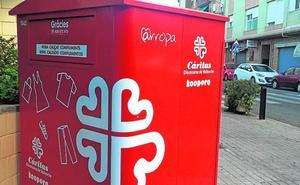 Los vecinos de Burjassot donaron 86.383 kilos de ropa y calzado el año pasado