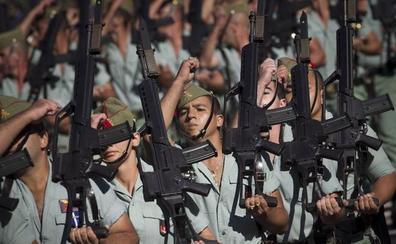 Fallece un legionario en unas maniobras con fuego real en Alicante