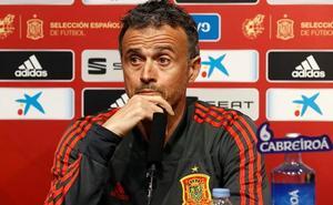 Luis Enrique: «Llevamos una media de 2,7 por partido; para estar faltos de gol no nos va mal»