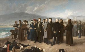 El Prado reivindica 'El fusilamiento de Torrijos', el 'Guernica' del siglo XIX