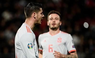Morata responde a la confianza de Luis Enrique