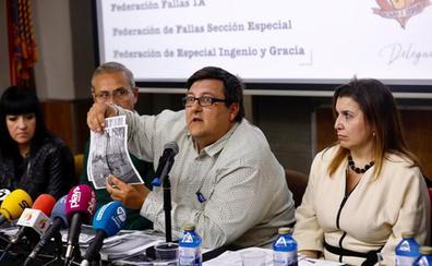 Las fallas piden a Fuset y al PSPV que no las usen para «hacer campaña electoral»