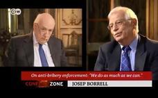 Borrell abandona una entrevista en una cadena alemana cuando le preguntan por Cataluña
