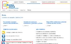 Cómo descargar el borrador o declaración de la Renta 2018 -2019