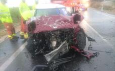 Dos jóvenes mueren en un choque frontal en la CV-525 entre Alginet y Algemesí