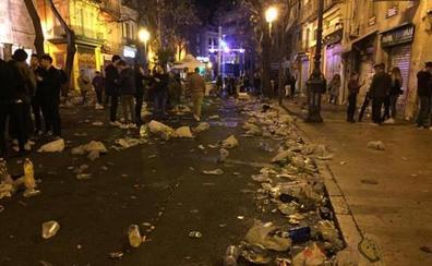 María José Catalá se compromete a crear una unidad específica de la Policía Local para luchar contra el botellón