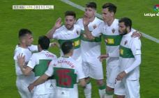 Los cinco mejores goles de la jornada 32 de Segunda