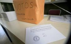 Resultados de la votación de la jornada continua del 1 de abril en los colegios de Valencia, Alicante y Castellón
