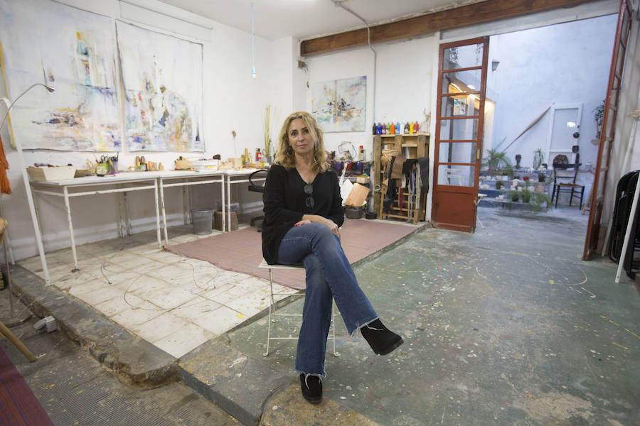 La casa de Antonia Martínez, collage en la serrería