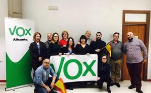 Lista de candidatos de Vox en Alicante a las elecciones autonómicas de 2019