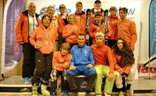 El esquí cross valenciano triunfa en el Nacional