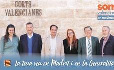 Lista de candidatos de Som Valencians en Valencia a las elecciones autonómicas de 2019