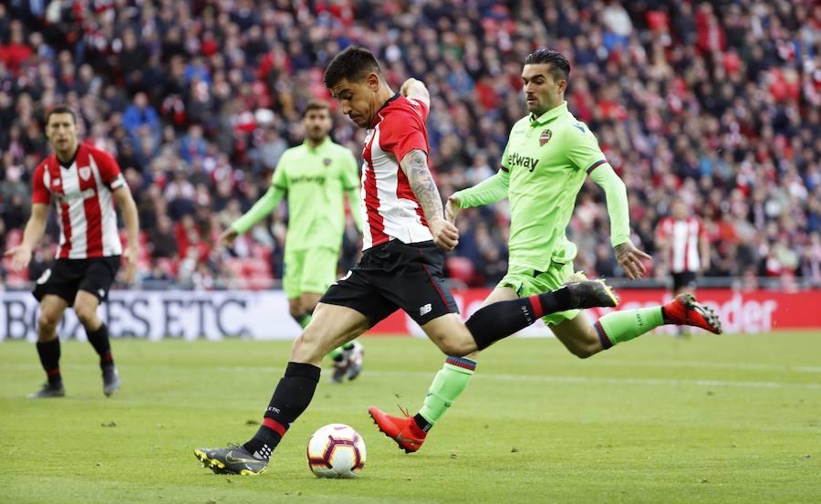 El Athletic-Levante en imágenes