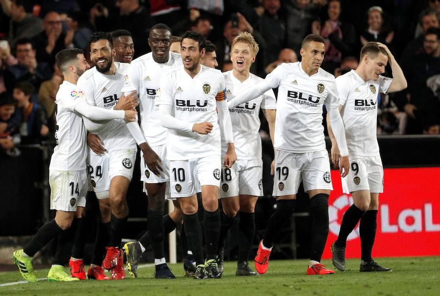El Valencia-Real Madrid en imágenes