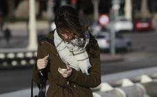 Las temperaturas caerán hoy en Valencia hasta siete grados y el viernes llegarán las lluvias