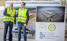Lidl ultima en Cheste su centro logístico más grande de España tras invertir 55 millones de euros