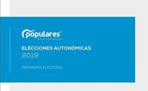 Programa electoral del PP para las elecciones autonómicas 2019 en la Comunitat Valenciana