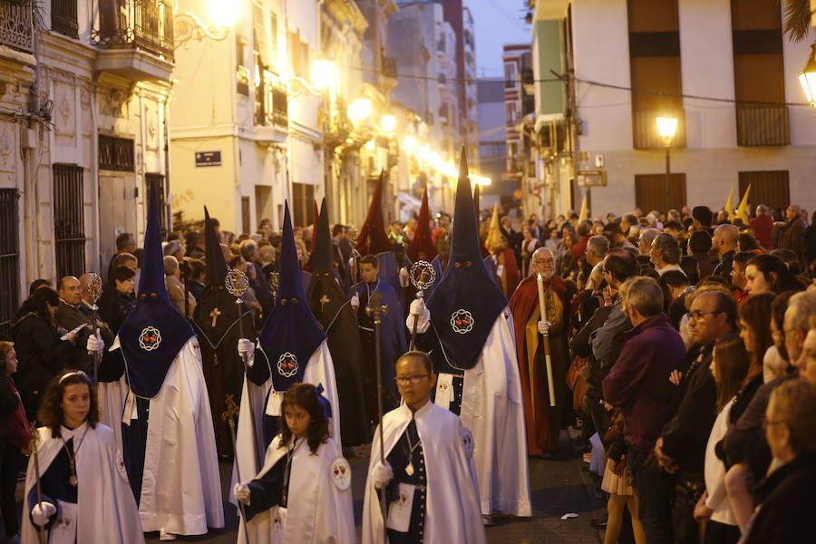 Martes Santo en la Semana Santa Marinera 2019: horarios y procesiones en Valencia el 16 de abril