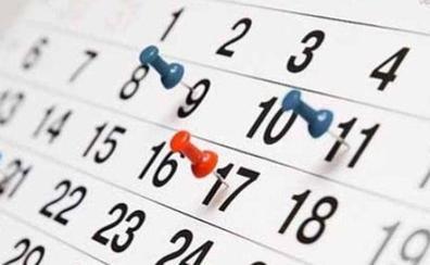 Calendario Laboral 2020 Valencia Capital.Calendario Laboral Las Provincias