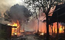Detenido un presunto pirómano que se «recreaba» grabando sus incendios en Castellón y Valencia