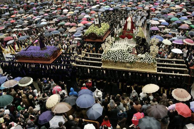 El tiempo en Sevilla en Semana Santa 2019: Aemet actualiza su previsión