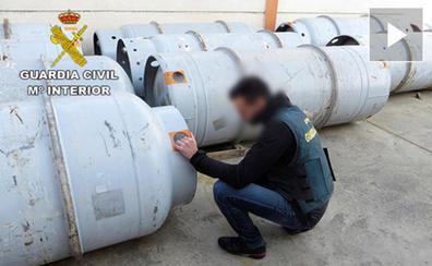 El Seprona destapa el contrabando de 10 toneladas de gases contaminantes en Valencia