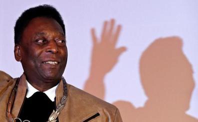 Pelé se siente «mucho mejor» de su infección urinaria