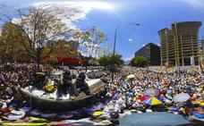 Calles llenas de venezolanos hartos