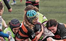 Irene Noguera esboza un hito en el rugby valenciano