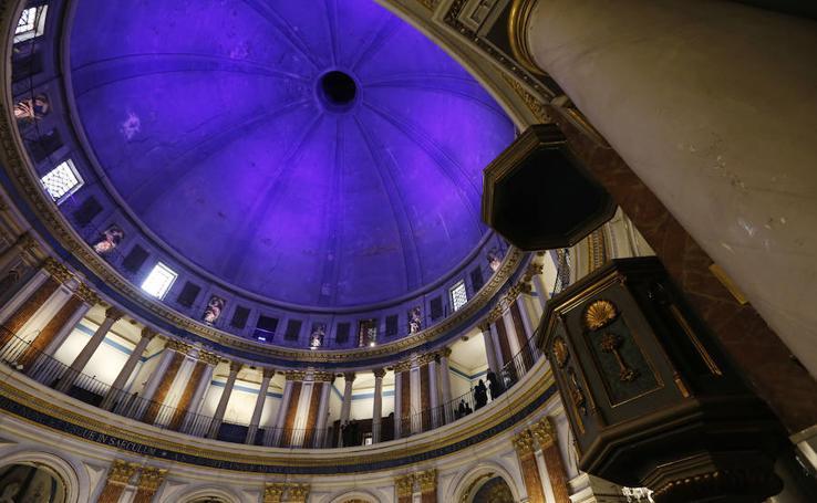La cúpula de las Escuelas Pías de Valencia