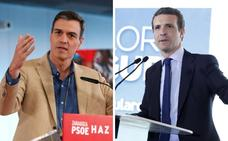 El PSOE se resiste a mantener un debate cara a cara con Casado