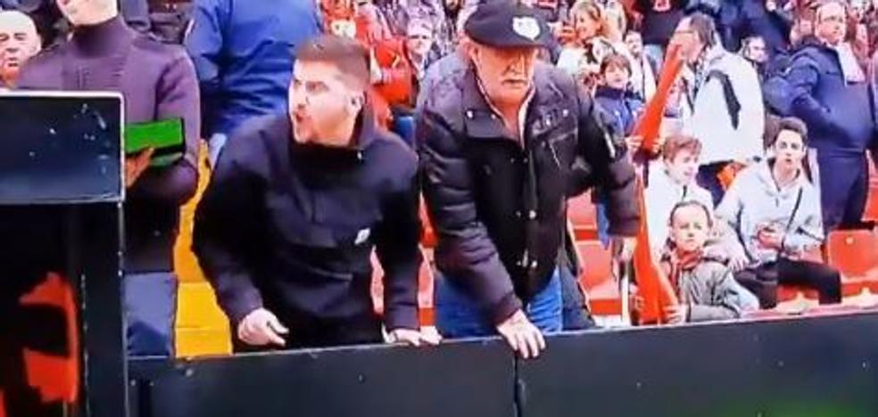 El vídeo de los insultos a Marcelino en Vallecas: «Lástima que no te hubieras matado»