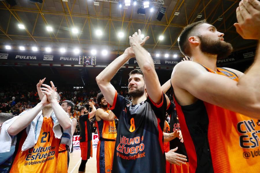 El Valencia Basket-Alba Berlin, en imágenes