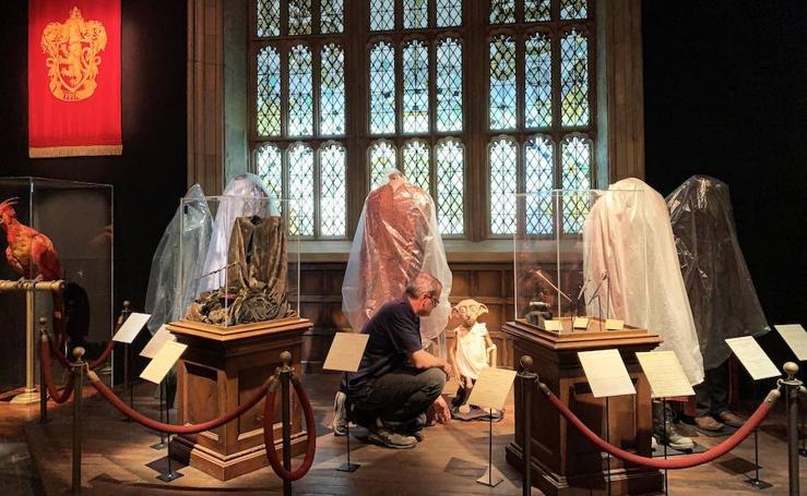 La exposición de Harry Potter toma forma en el Museo de las Ciencias de Valencia
