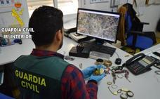 Detenido un hombre implicado en 16 robos con fuerza en viviendas de Camp de Morvedre