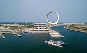 Así es Circular View, la noria gigante de Valencia que pretende coronar la Marina