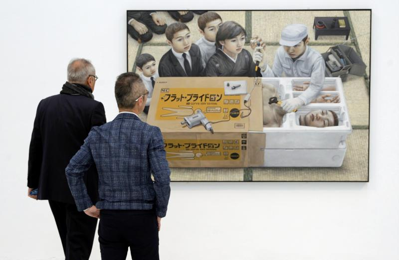 Tetsuya Ishida, un pintor entre Kafka y el manga