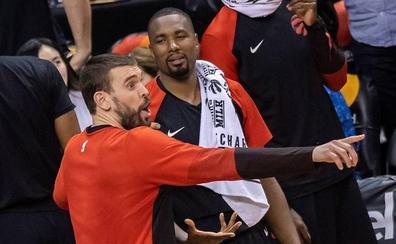 Récord de españoles en los 'playoffs' de la NBA