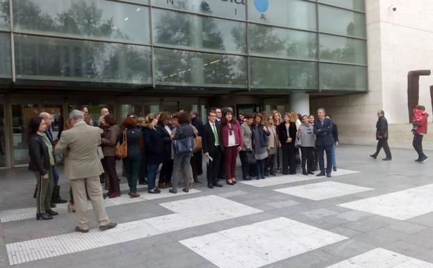 Los letrados de Justicia valencianos anuncian movilizaciones si no se suben sus salarios