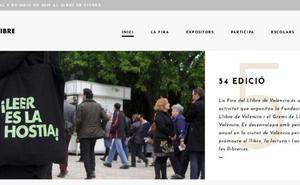El lema de una feria de Madrid en la web de la cita de Viveros