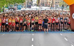 Calles cortadas hoy en Valencia por la carrera José Antonio Redolat 2019