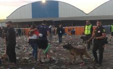 El final de las paellas universitarias de Valencia: Botellas en la acequia y desmayos en las calles