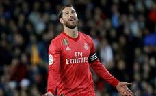Sergio Ramos, lesionado en el sóleo
