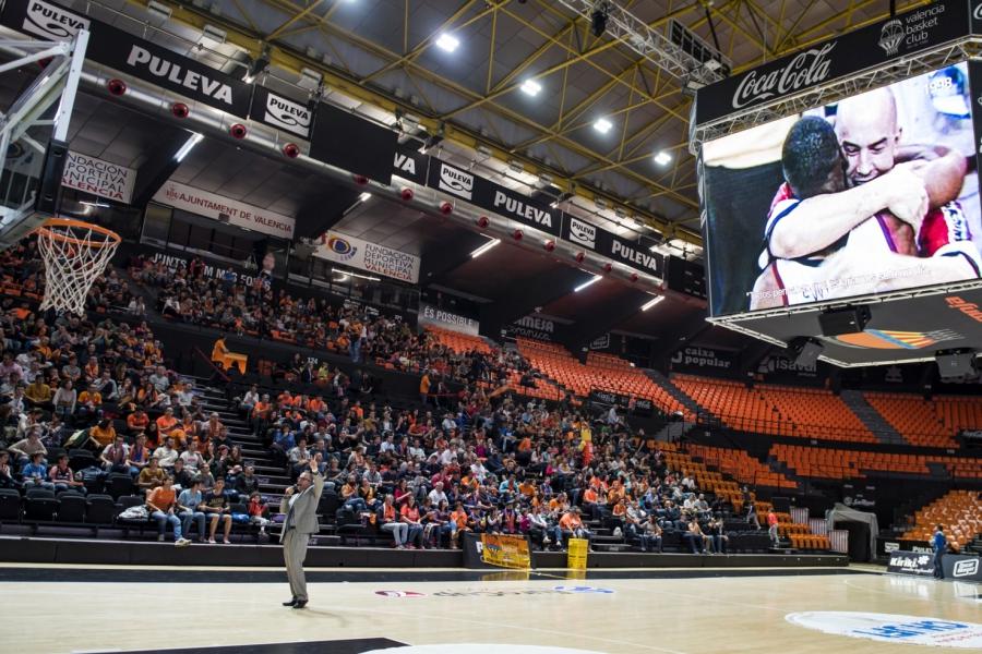 Pantallas gigantes y entrada gratis para ver la final de la Eurocup en la Fonteta