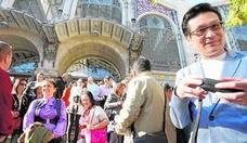 Inmobiliarias chinas montan visitas en grupo a Valencia para comprar pisos de lujo