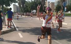 58 años y a debutar en el maratón de Valencia por papá