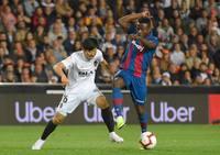 El Valencia-Levante en imágenes