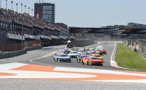 Vilariño gana la primera carrera de la NASCAR